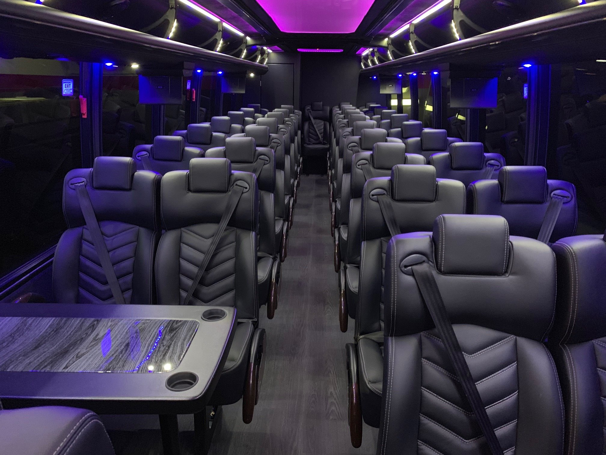 Luxury Liner Coach bus