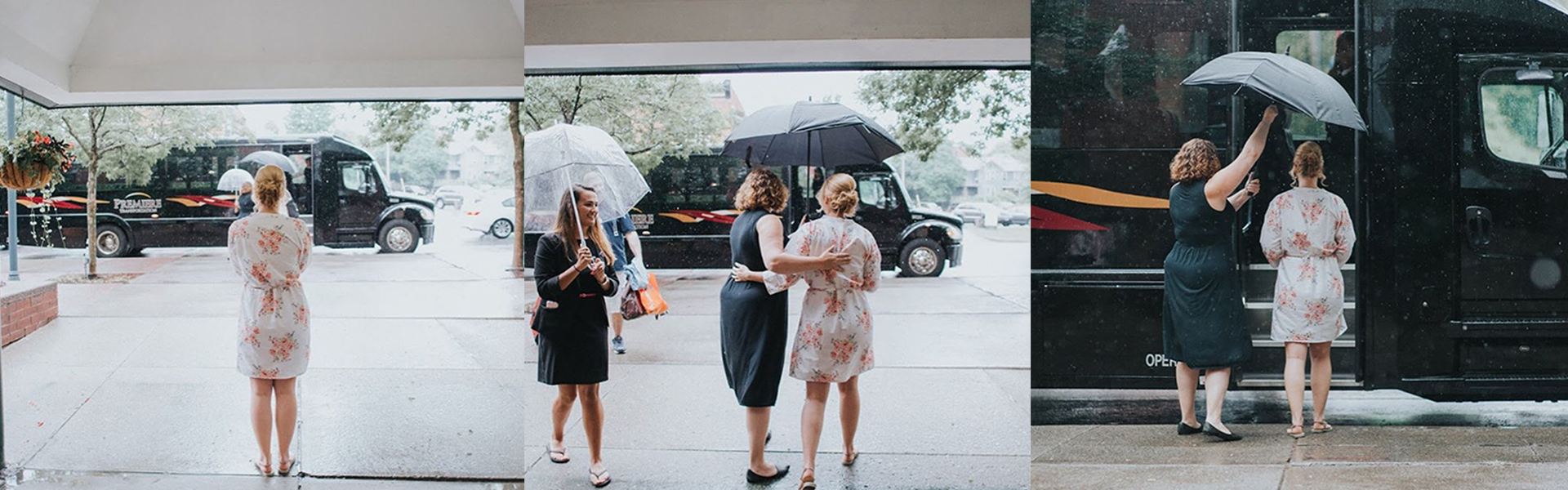 WEDDING TRANSPORTATION FOR EVERY OCCASION