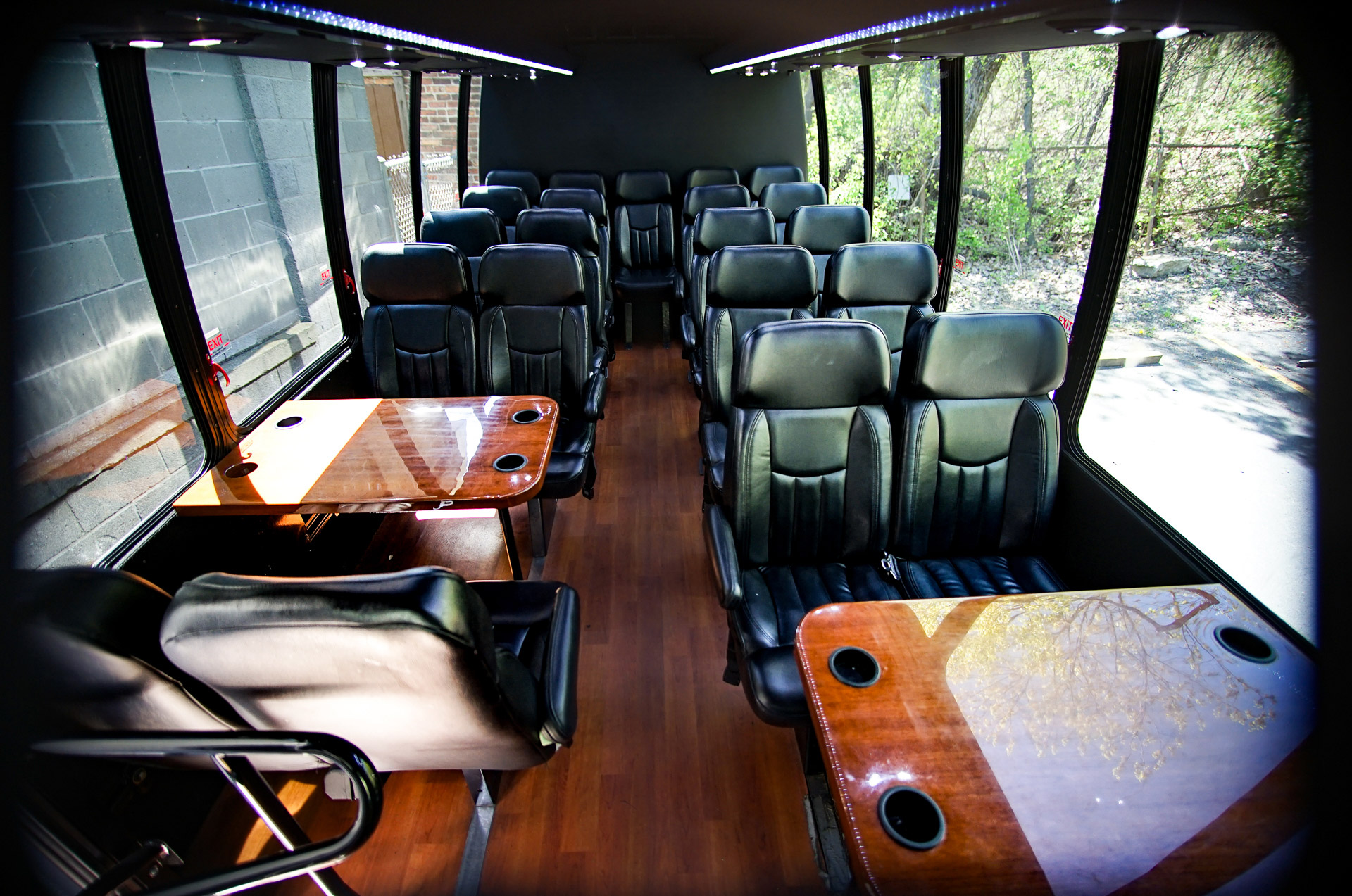 Mini Coach Bus interior
