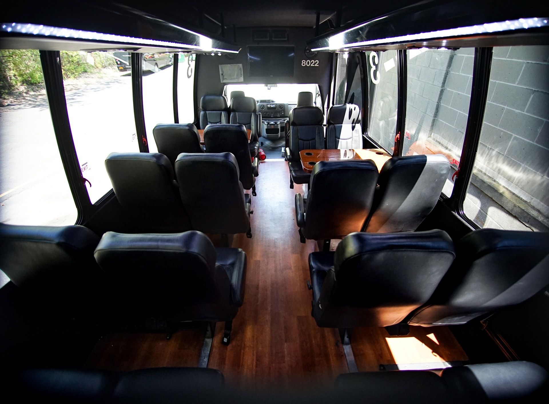 Mini Coach Bus seating