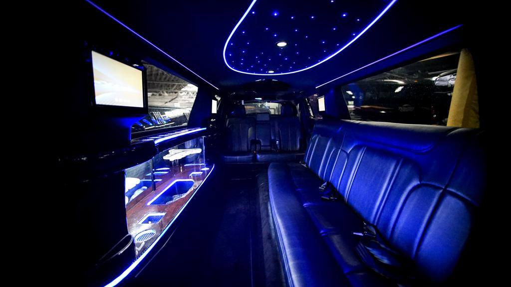 Limousine Interior Back